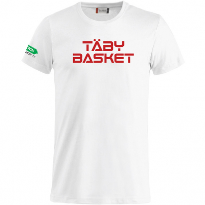 Täby Basket T-Shirt i gruppen KLUBBSHOP / TÄBY BASKET hos 2WIN BASKETBUTIK (340510)