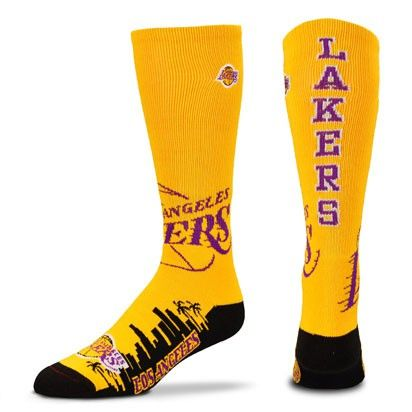 Lakers Skyline i gruppen BASKET / NBA / Strumpor hos 2WIN BASKETBUTIK (342146)