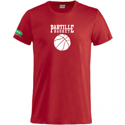 Partille Basket T-Shirt i gruppen KLUBBSHOP / PARTILLE BASKET hos 2WIN BASKETBUTIK (350022)