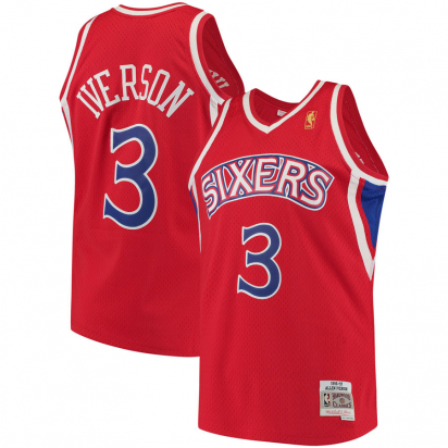 76ERS-Iverson Swingman i gruppen BASKET / NBA / Swingman hos 2WIN BASKETBUTIK (350326)