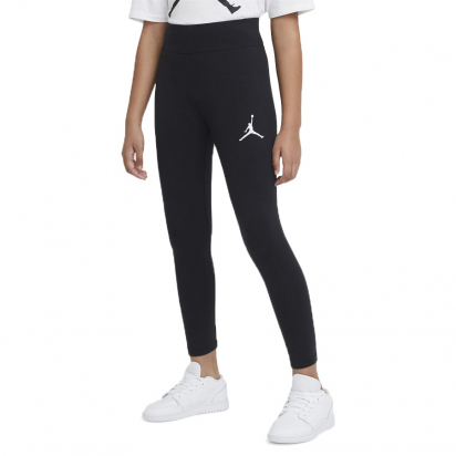 Jordan Logo High-Rise Leggings Girls i gruppen BASKET / BASKETKLÄDER JUNIOR / Girl hos 2WIN BASKETBUTIK (45A438-023)