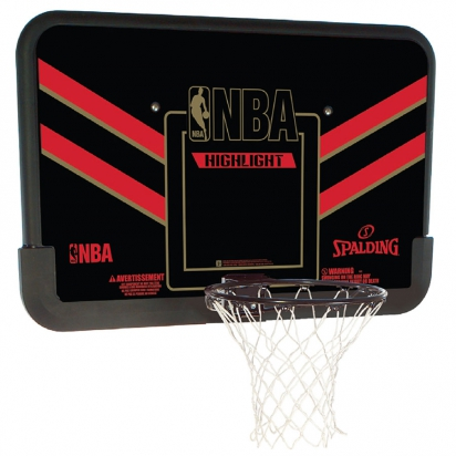 Spalding NBA Highlight Backboard i gruppen BASKET / BASKETKORGAR hos 2WIN BASKETBUTIK (80798CN)