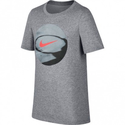 Nike Dry Photoball Jr i gruppen BASKET / BASKETKLÄDER JUNIOR / T-Shirts hos 2WIN BASKETBUTIK (894254-091)