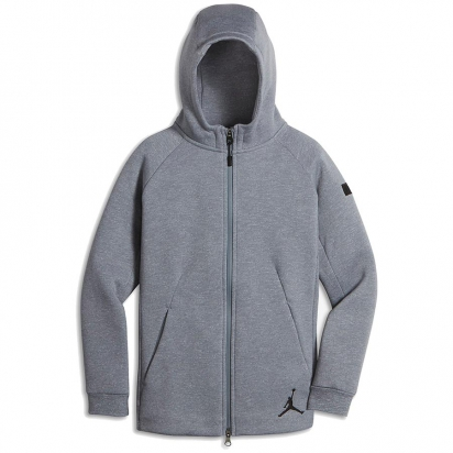 Air Jordan Icon Zip Hoody Jr i gruppen BASKET / JORDAN / Junior hos 2WIN BASKETBUTIK (954483-K26)