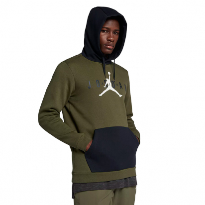 Jordan Jumpman Air Fleece Hoody i gruppen BASKET / JORDAN / Hoodies / Jackor hos 2WIN BASKETBUTIK (AA1451-395)
