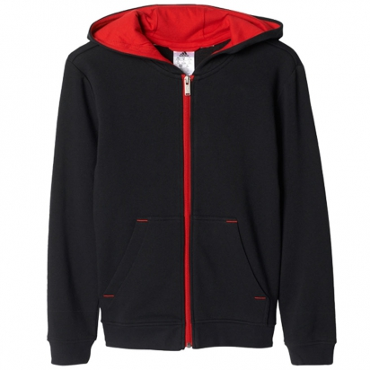 Bulls Zip Hoody Jr i gruppen BASKET / BASKETKLÄDER JUNIOR / Hoodies / Jackor hos 2WIN BASKETBUTIK (AP5717)