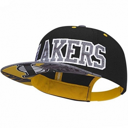 Lakers Snapback Jr i gruppen BASKET / KEPSAR / MÖSSOR / Kepsar Jr hos 2WIN BASKETBUTIK (AY6128)
