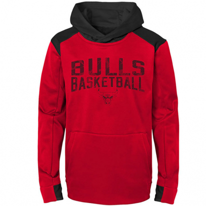 Bulls Hoody Jr i gruppen BASKET / BASKETKLÄDER JUNIOR / Hoodies / Jackor hos 2WIN BASKETBUTIK (EK2B7BAQB-BUL)