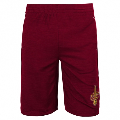 Cavaliers Free Throw Short Jr i gruppen BASKET / BASKETKLÄDER JUNIOR / Shorts hos 2WIN BASKETBUTIK (EK2B7BBAL-CAV)