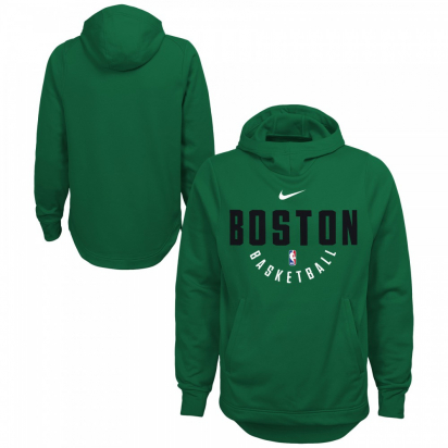 Celtics Hoody Jr i gruppen BASKET / BASKETKLÄDER JUNIOR / Hoodies / Jackor hos 2WIN BASKETBUTIK (EZ2B711L1-CEL)