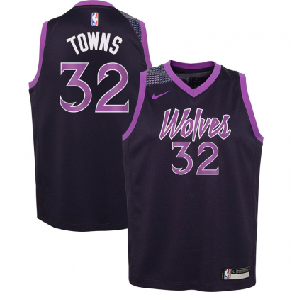 Timberwolves Swingman-Towns Jr i gruppen BASKET / BASKETKLÄDER JUNIOR / Tanks hos 2WIN BASKETBUTIK (EZ2B7B1BP-TOWNS)