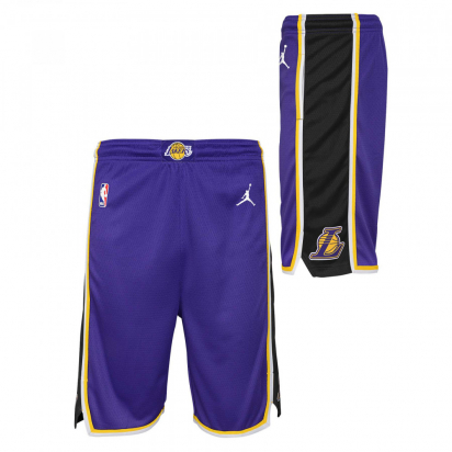 Lakers Short Swingman Jr i gruppen BASKET / BASKETKLÄDER JUNIOR / Shorts hos 2WIN BASKETBUTIK (EZ2B7BAFC-LAKERS)