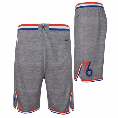 76ers Short Swingman Jr i gruppen BASKET / BASKETKLÄDER JUNIOR / Shorts hos 2WIN BASKETBUTIK (EZ2B7BAYY-76ERS)