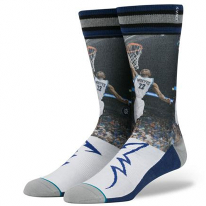 NBA Wiggins-Timberwolves Crew i gruppen BASKET / NBA / Strumpor hos 2WIN BASKETBUTIK (M548C16AND)