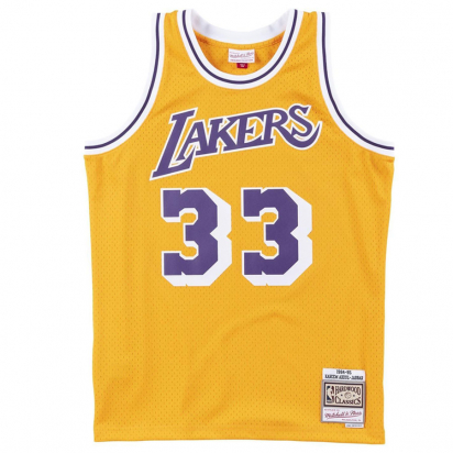 Lakers-Abdul-Jabbar Swingman i gruppen BASKET / NBA / Swingman hos 2WIN BASKETBUTIK (SMJYAC18110-JABBAR)