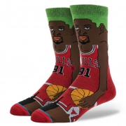 NBA Legends Cartoon Rodman-Bulls Crew