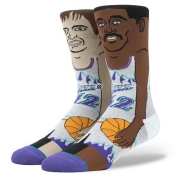 NBA Legends Cartoon Stockton/Malone-Jazz Crew