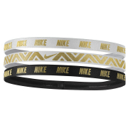 Nike Metallic Hårband 3-Pack