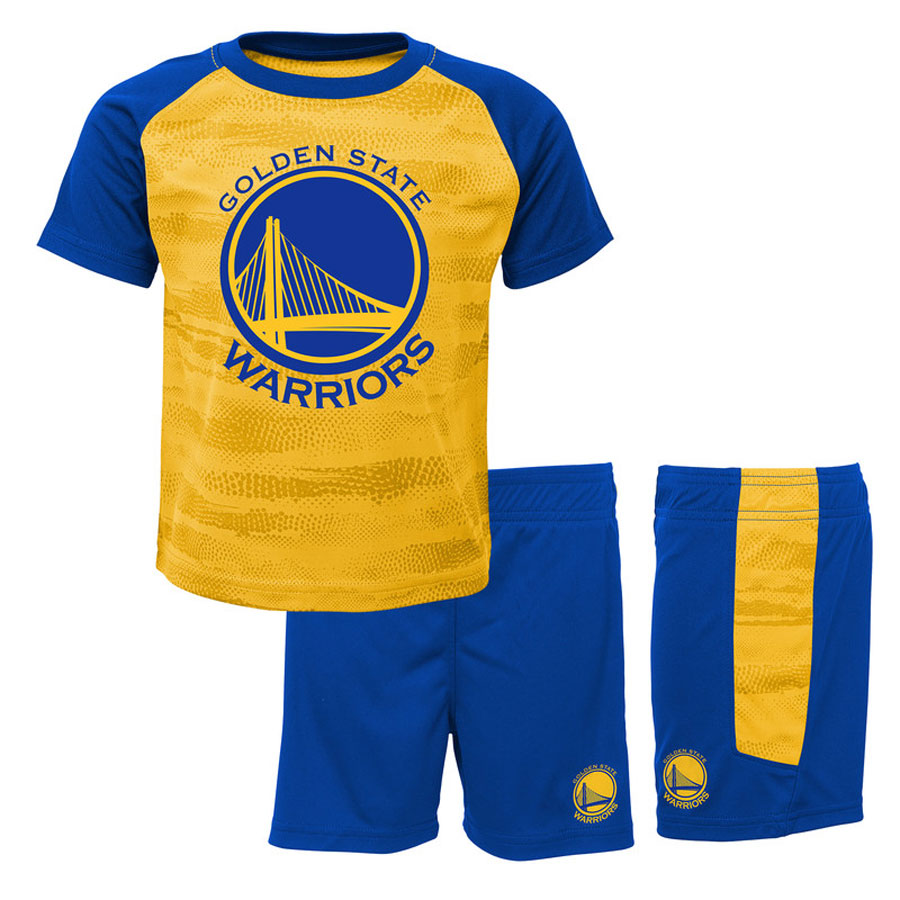 low priced ca981 5a98b Golden State Warriors Double Dribble Baby Set