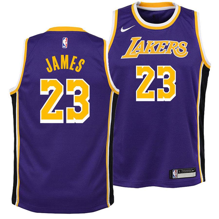 huge selection of ecf34 cd577 Lakers Swingman-LeBron Jr